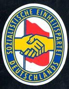 A7107 - Altes Emblem - SED - DDR - Sozialistische Einheitspartei Deutschland - Parteiabzeichen - Ohne Zuordnung