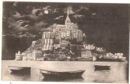 ----50 ----- Le Mont Saint Michel La Nuit TTB - Le Mont Saint Michel