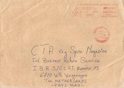 Cameroun Cameroon 2013 Dschang Meter Neopost NP350187 EMA Cover - Kameroen (1960-...)