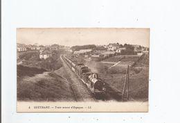 GUETHARY 5 TRAIN VENANT D'ESPAGNE (BEAU PLAN) - Guethary