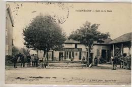 Valentigny.- Café De La Gare,- R.Rale - France