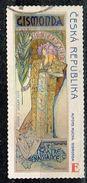 Tschechien 2010, Michel# 633 O 150 Years Alfons Mucha - E - Czech Republic