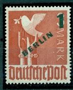 Berlin In Grün Auf Arbeiterserie, Nr. 67 Postfrisch ** - Berlin (West)