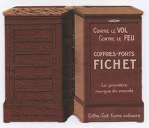 Petit Fascicule Publicitaire En Forme De Coffre-fort/ FICHET/Premiére Marque Du Monde/Paris /Vers 1900-1920       VPN107 - Advertising