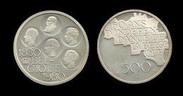 500 FRANCS 1980 . 150 ANS D'INDEPENDANCE DE LA BELGIQUE . LEGENDE FRANCAISE . - 1951-1993: Baudouin I
