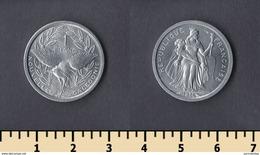 New Caledonia 1 Franc 1971 - New Caledonia