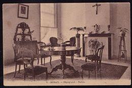 RENAIX - RONSE --- HOPITAL CIVIL  ET HOSPICE CANFYN - PARLOIR - Carte Vierge - Decor Biedermeier - Ronse