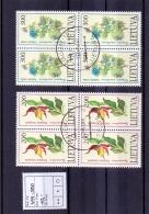 Litauen - Rote Buch Gefährdeter Tier - Und Pflanzenarten 1992 (o/used) - Lithuania