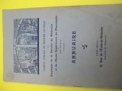 Annuaire/Soc. Am. Sec. Mutuels Employés Faculté Médecine Et Ecole Sup Pharmacie/Paris/ 1911-12      VPN108 - Advertising