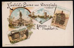 AK/CP Litho  Frankfurt Main    Kleefeld Hannover   Ungel./uncirc.  Um 1900    Erh./Cond.  2     Nr. 00095 - Frankfurt A. Main