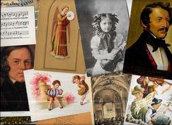 Lot 802 De 10 CPA CPSM Musique Musicien Déstockage Pour Revendeurs Ou Collectionneurs - Cartes Postales