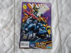 MARVEL Comics Group X-MEN Deluxe Ride The Death Train 1996 - Marvel
