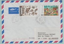 C.12  Wallis Et Futuna 20.2.1997 Pour La Suisse (verso= Rien) - Covers & Documents