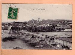 Cpa Cartes Postales Ancienne - Dax Vue Generale 2 - Dax