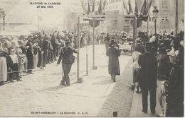 78 Yvelines Saint Germain Paris Marche De L'armée 29 Mai 1904 Le Contrôle TTBE - St. Germain En Laye (castle)
