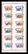 Russia 2009 Mih. 1592/603 Definitive Issue. Russian Kremlins (M/S) MNH ** - Unused Stamps