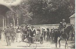 78 Yvelines Rocquencourt Paris Marche De L'Armée 29 Mai 1904 Girard Passe à Rocquencourt - Rocquencourt