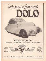 Dolo (automobile) - Publicités