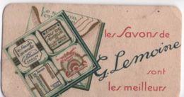 Carte Parfumée ( Ne Sent Plus)/ Les Savons De G  LEMOINE /Paris/Vers 1920-1930       PARF98 - Profumeria Antica (fino Al 1960)