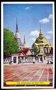 Cpsm Thaïlande The Mondhop Of Wat Pho     SEP17-23 - Thaïlande