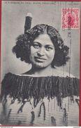 New Zealand Maori Princess 1910 Nouvelle Zelande Nieuw Zeeland Femme Girl Lady Beauty Beaute Ethnic Tribe Tribal Tribu - Nuova Zelanda