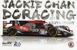 24 Heures Du Mans 2017 - Jackie Chan Racing - Jota Sport - Pin Tung-Jarvis-Laurent  -  Carte Promo - Le Mans