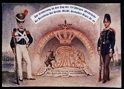 AK/CP  Grenadier Regiment Nr. 89     Schwerin     Gel./circ.  1907    Erh./Cond.  2  Nr. 00115 - Reggimenti