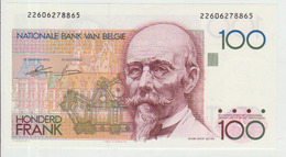 Belgium 100 Francs (1982-94) Pick 142 UNC - [ 2] 1831-... : Belgian Kingdom