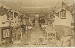 Honnay - Le Vestibule Du Château Orné De Têtes De Sangliers, Cerfs,.. Empaillés - Edit. Desaix - Beauraing