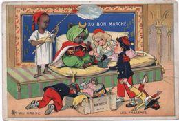 """Grande Image """"Au Bon Marché""""/ Au MAROC/ Les Présents /Maison A Boucicaut/Vers 1900-1910      IMA231 - Au Bon Marché"""