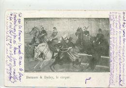CIRQUE - Barnum Bailey - Chevaux - Cirque