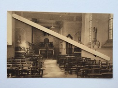 """WAREMME """"Intérieur De L'Eglise De LONGCHAMPS """" NELS Édit L. Fraipont- Boden, Waremme . - Borgworm"""