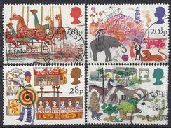 GB 1983 British Fairs (o) Mi.966-969. SG.1227-1230 - 1952-.... (Elizabeth II)