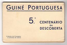 GUINÉ-BISSAU - COSTUMES - (10POSTAIS) Guiné Portuguesa 5º Aniversario Da Descoberta ( Ed. Neogravurea Lda) Carte Postale - Guinea-Bissau