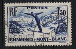 FRANCE      N° YVERT  :    334   ( 6 )      OBLITERE - Used Stamps