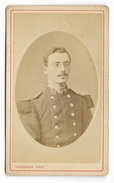 PHOTO CDV MILITAIRE  19e Siècle EPOQUE EMPIRE Photographie VASSOGNE - Anciennes (Av. 1900)