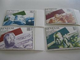 Senegal-1991-space-astronauts-Louis Armstrong-MI.1146-49 - Senegal (1960-...)