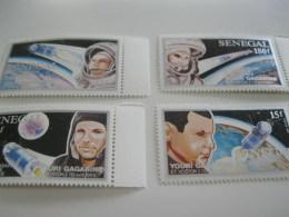 Senegal-1991-space-astronauts-Youri Gagarine-MI.1150-53 - Senegal (1960-...)