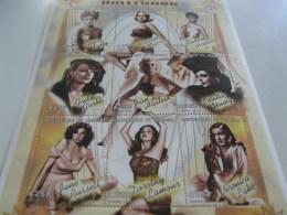 Senegal-1999-famous People,cinema,film-Hollywood Actresses-Garbo-MI.1833-41 - Senegal (1960-...)
