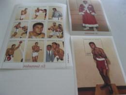 Senegal-1999-sports-boxing-Muhammad Ali-MI.1687-94,bl.88,89 - Senegal (1960-...)