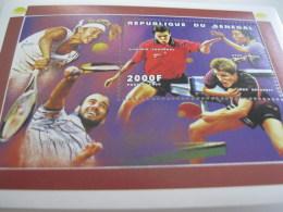 Senegal-1999-sports-tennis And Table Tennis-bl.90 - Senegal (1960-...)