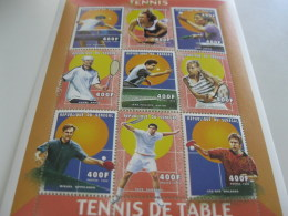 Senegal-1999-sports-tennis And Table Tennis-MI.1698-1706 - Senegal (1960-...)