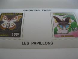 Burkina Faso-1996-fauna,flora-butterflies,insects-MI.1419-22 Sheet - Burkina Faso (1984-...)