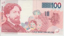 Belgium 100 Francs (1995-2001) Pick 147 UNC - [ 2] 1831-... : Belgian Kingdom