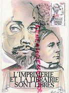 86 - LOUDUN - PRESSE L' IMPRIMERIE ET LA LIBRAIRIE SONT LIBRES - 30 MAI 1981 - FDC
