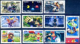 FRANCE 2005 YVERT N0 3842-3851 COTE 5E - France