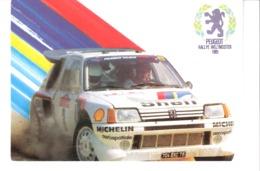 Sport Automobile-Peugeot 205 T16-Championnat Du Monde De Rallye Weltmeister-Pub. Michelin-Aérospatiale - Rally's