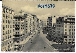 Lazio-roma Citta Via Britannia Bella Animata Panoramica Veduta Anni 50 - Autres