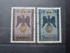 VEND BEAUX TIMBRES DU LIECHTENSTEIN N° 313 + 314 , XX !!! - Liechtenstein
