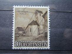 VEND BEAU TIMBRE DU LIECHTENSTEIN N° 338 , XX !!! - Liechtenstein